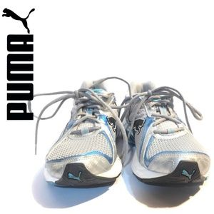 PUMA Cell Levaio Running Sneaker Azure Blue 9